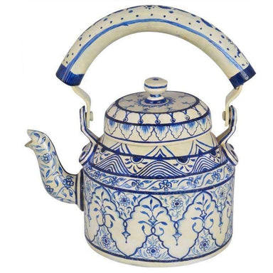 Painted Teapots Hand Tea Kettle Royal Jaipur
