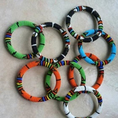 Bracelets Handmade Beaded Maasai Bracelet - by Naruki Crafts