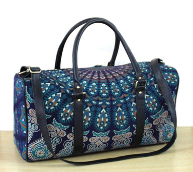 Bags New Handmade Duffle Sports Gym Bag Unisex Man and Woman Travel Cotton Fabric Mandala Handbags Throw - by Craftauras
