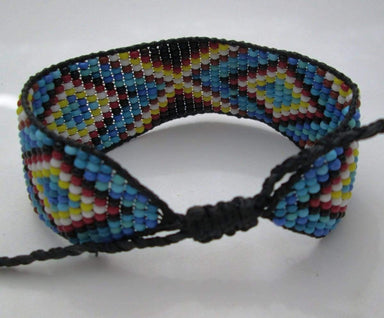 Bracelets Huichol Native American Inspired Beaded Bracelet
