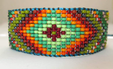 Bracelets Huichol Native American Inspired Beaded Bracelet Orginal Design