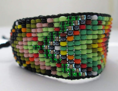 Bracelets Huichol Native American Inspired Beaded Bracelet Original Design