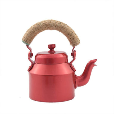 Painted Teapots Kaushalam Hand Tea Pot (500 ml): Metalic Pink