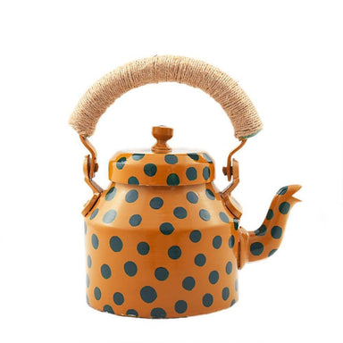 Painted Teapots Kaushalam Hand Tea Pot (500 ml): Polkamania