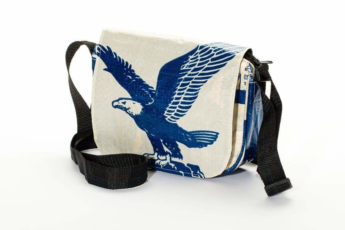 Shoulder Bags Kuna Crossbody Bag - Blue Eagle by TORRAIN