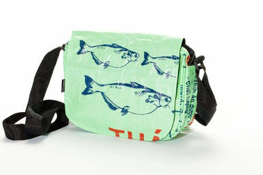 Shoulder Bags Kuna Crossbody Bag - Green Fish by TORRAIN