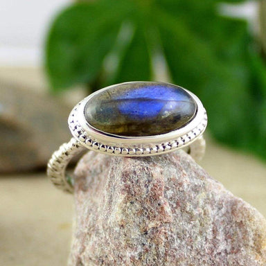 Rings Labradorite Ring Gemstone Designer