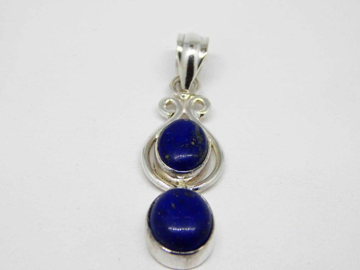 Necklaces Lapis Sterling Silver Pendant