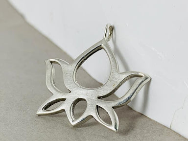 Lotus Flower Pendant 925 Silver For Women Gift Her Unique Jewelry jewelry - by Heaven