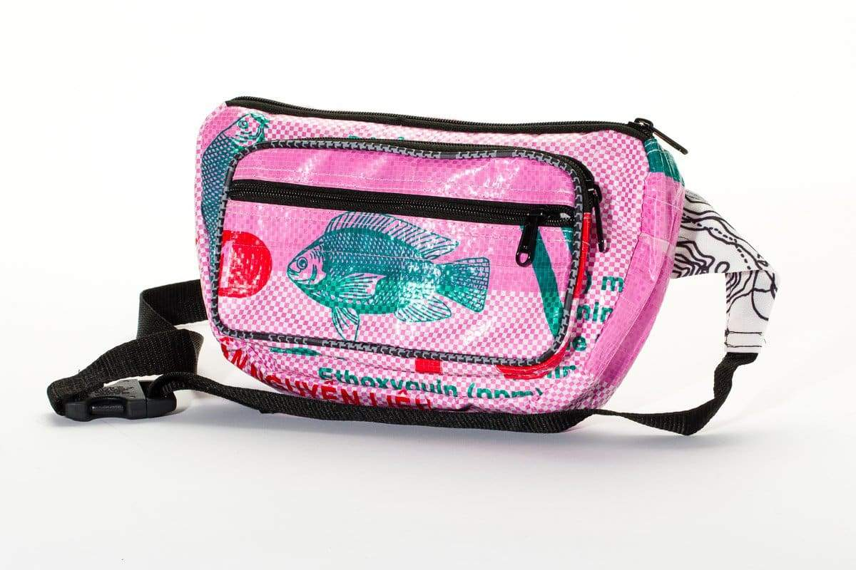 Bags Moon Bag - Pink Fish by TORRAIN