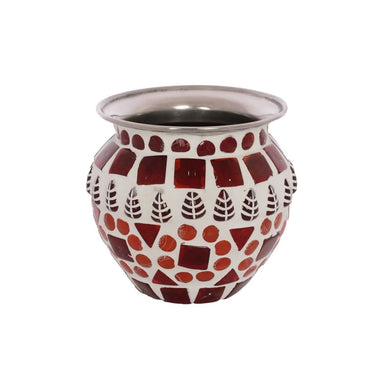 Home Decor MOSAIC KALASH: RED
