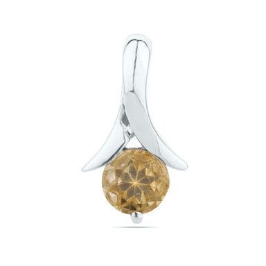 Natural Citrine Pendant Tiny