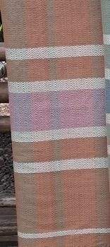 Scarves Natural Dye Handwoven Cotton Harmony Scarf