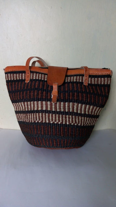 Tote Bags oven sisal market bag Woven shoulder handbag Beach Christmas Gift Sisal Summer Moms gift - Title by Naruki Crafts