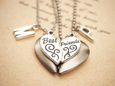 Necklaces Personalized Best Friend Necklace for two - by StylishNature