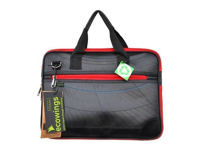 Cases & Sleeves Back recycled rubber laptop sleeve