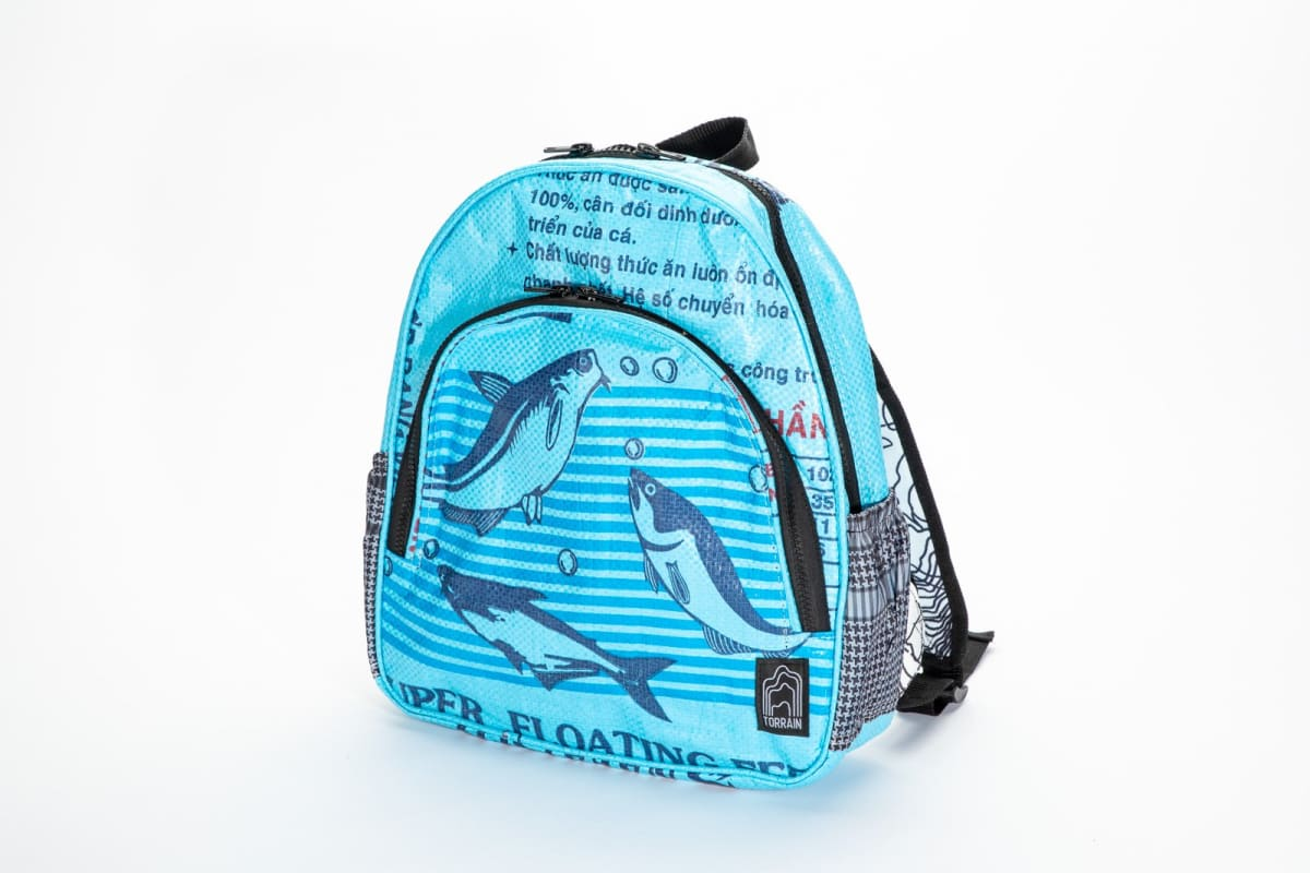 Backpacks Scout Backpack - Blue Fish by TORRAIN