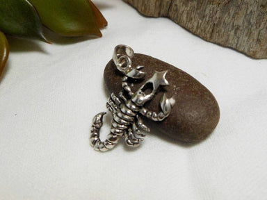 Necklaces Silver Scorpio Star Sign Charm 925 Sterling Birth Horoscope