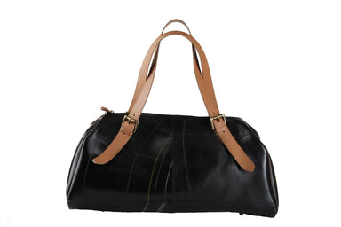 Handbags Sleek and sturdy rubber bowling handbag
