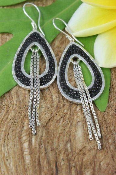 Earrings The Source Black Stingray