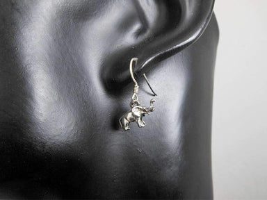 Earrings Sterling Silver Elephant Drop Earring Womens Dangle Pierced
