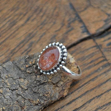 Rings Sunstone Gemstone Jewelry - and 925 Sterling Silver Ring