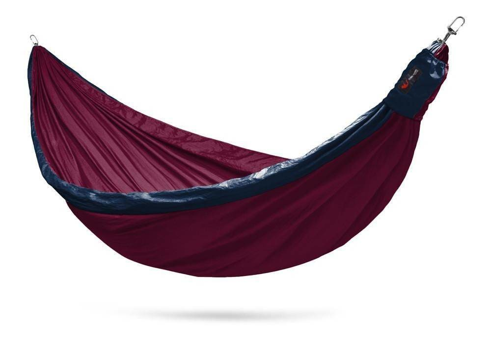 Hammocks Travel Hammock w/ hanging straps & carabiners. Handmade with love in Thailand.