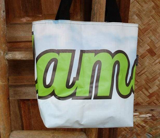 Tote Bags Vinyl Recycled Bag Medium