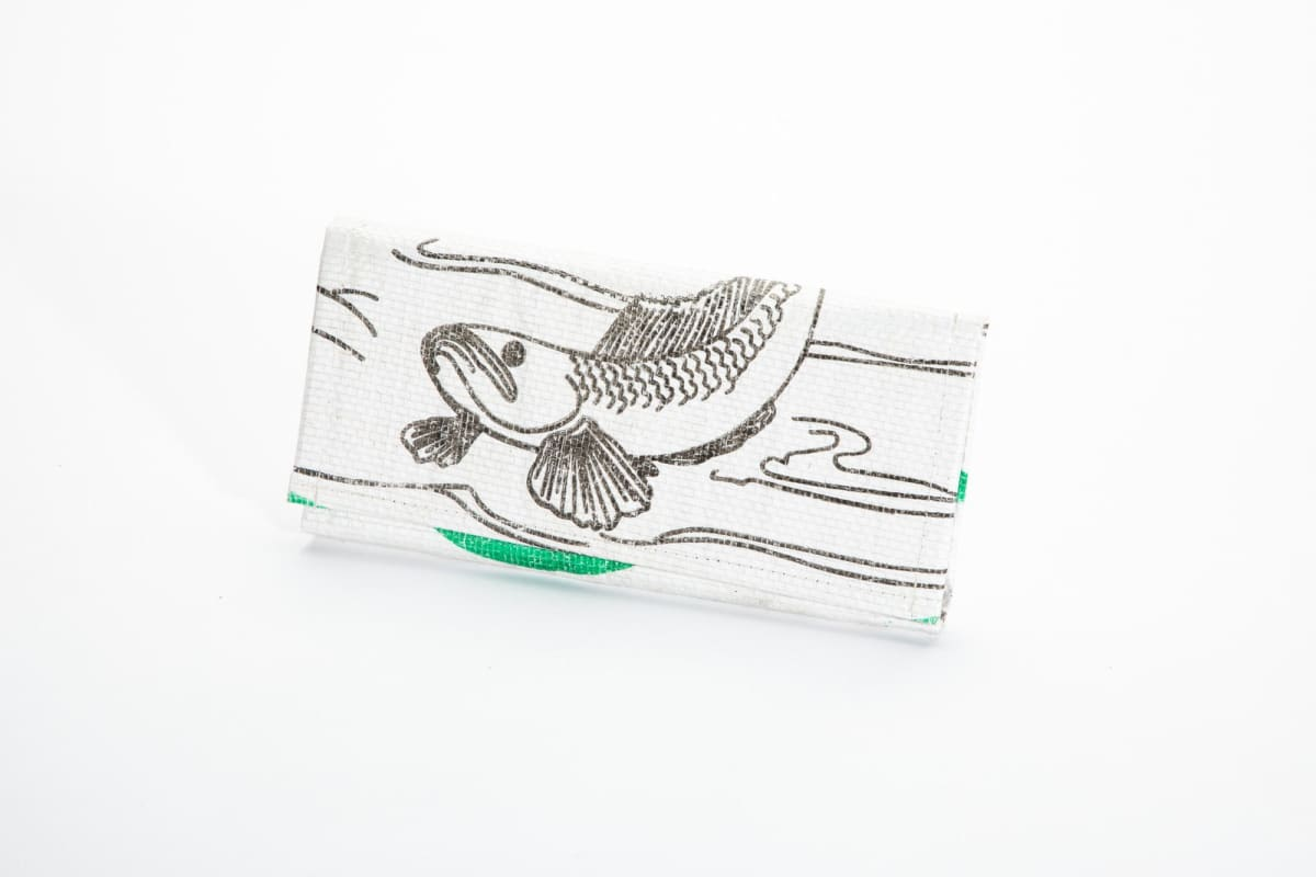 Wallets Voyage Bi-Fold Wallet - White Fish by TORRAIN