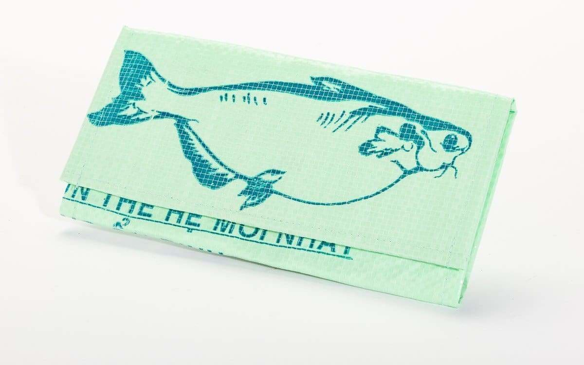 Wallets Voyage Bi-Fold Wallet - Green Fish by TORRAIN