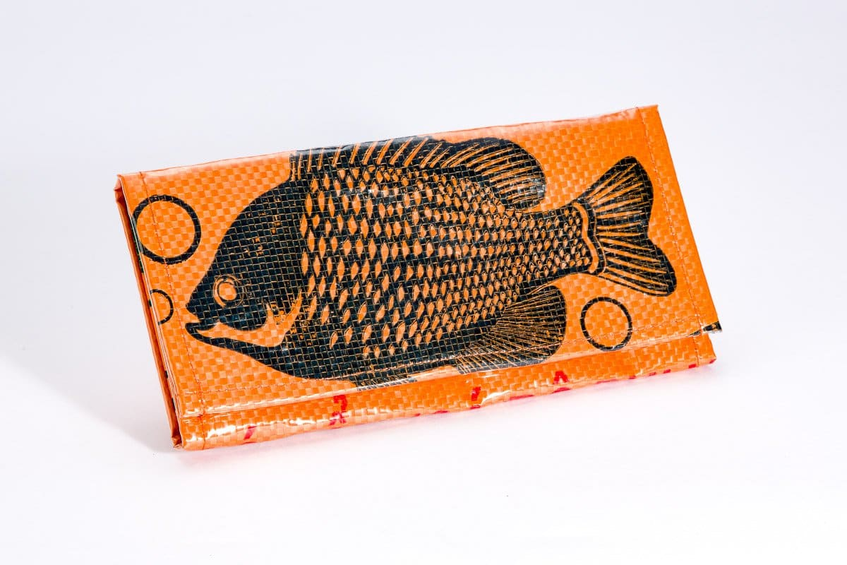 Wallets Voyage Bi-Fold Wallet - Tangerine Fish by TORRAIN