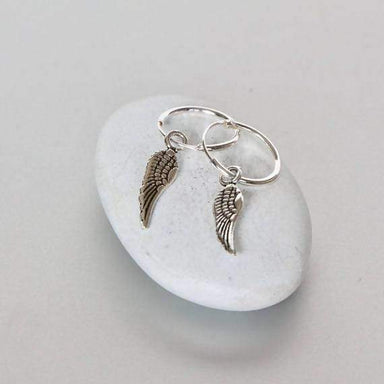 Earrings Wing Angel Silver Earring,Trendy Ear Accessories Bohemian Jewelry Funky Earrings,Gift (E84)