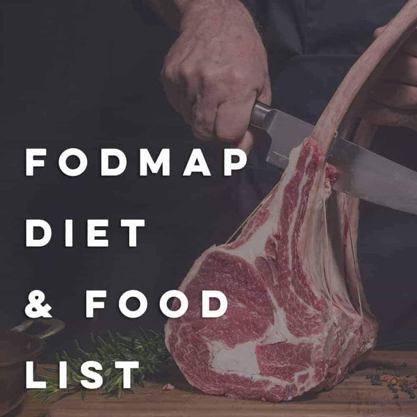 Low FODMAP Diet and Food List