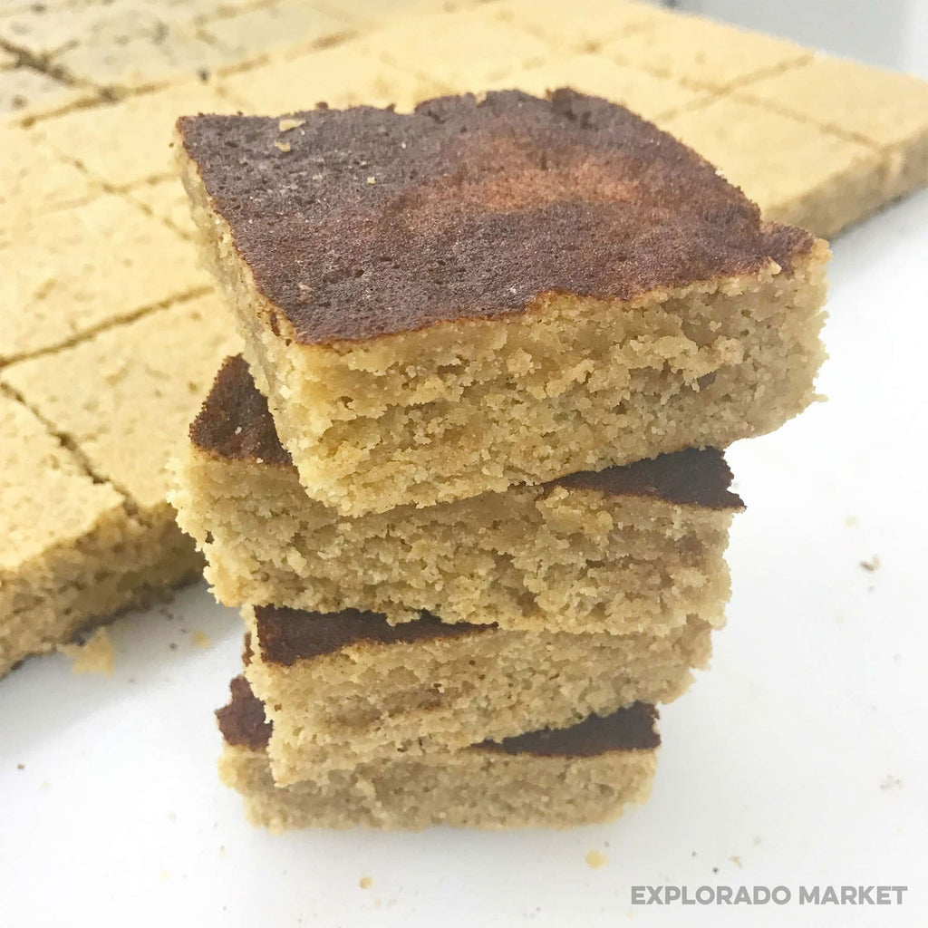 Keto Snickerdoodle Cookie Bars