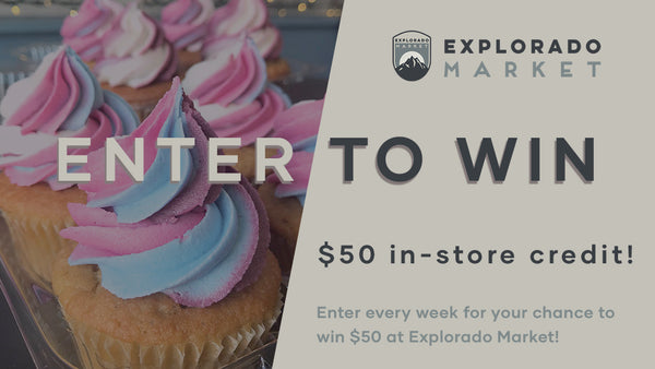 Enter to win our weekly giveaway at Explorado Market