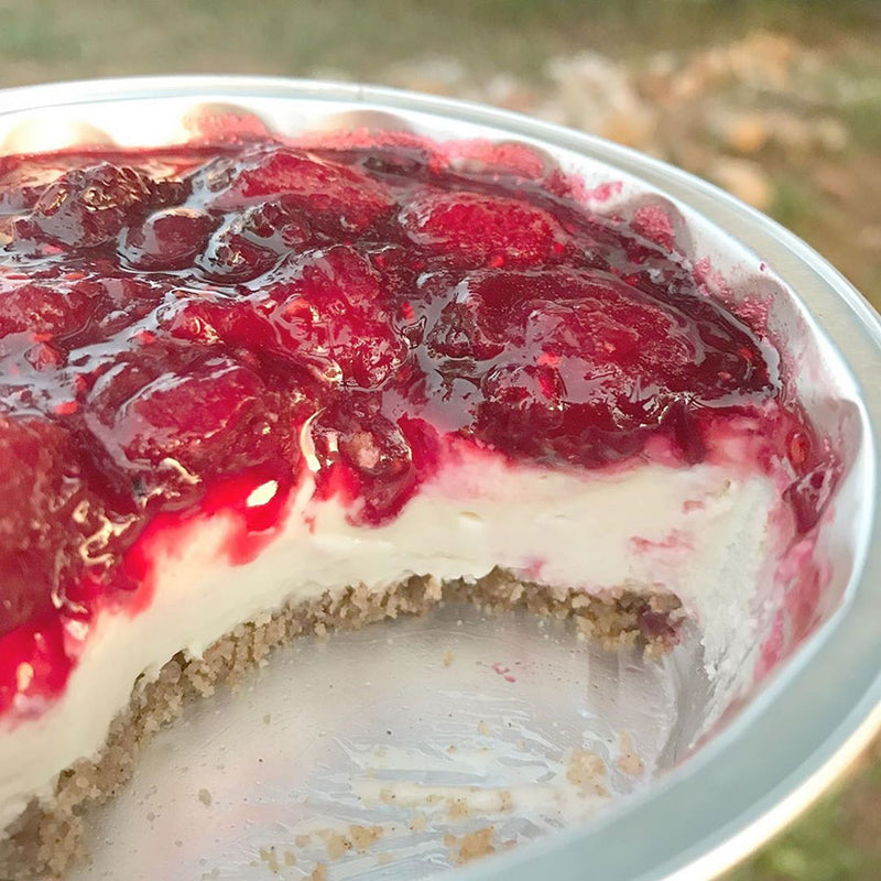 Mixed Berry Glazed Cheesecake