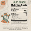 Boone Bar Nutrition Facts