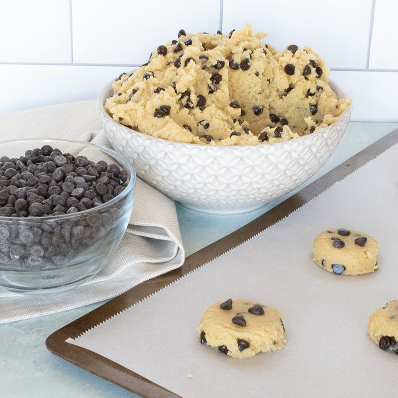 Keto Cookie Dough with Almond Flour
