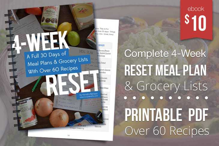 Meal Plan PDF eBook