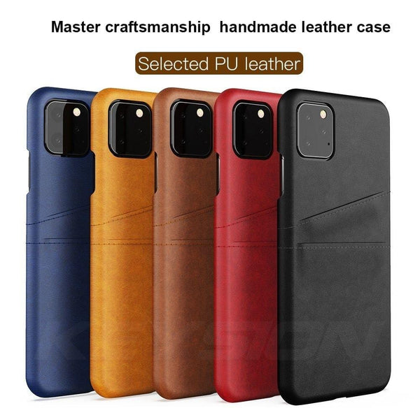Leather Case for iPhone 11 Pro & 11 Pro Max - The Emporio Originals