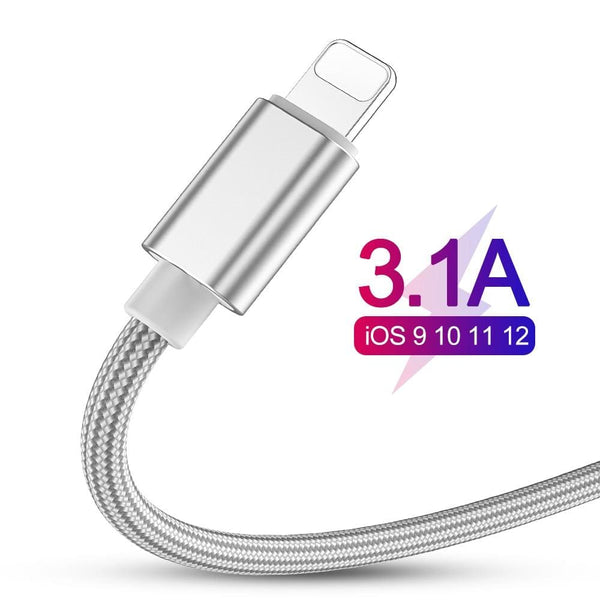 3.1A Fast Charging Cable For iPhone - The Emporio Originals
