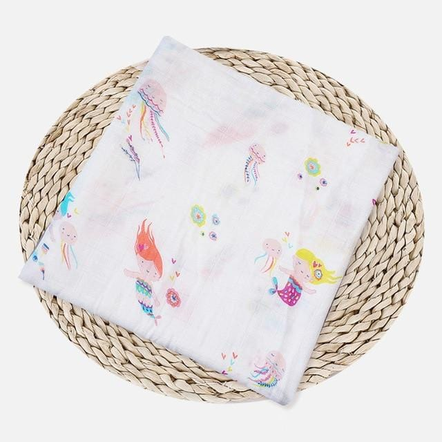1Pc 100% Cotton Baby Swaddles - The Emporio Originals