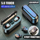 Bluetooth V5.0 Wireless Earphones - The Emporio Originals