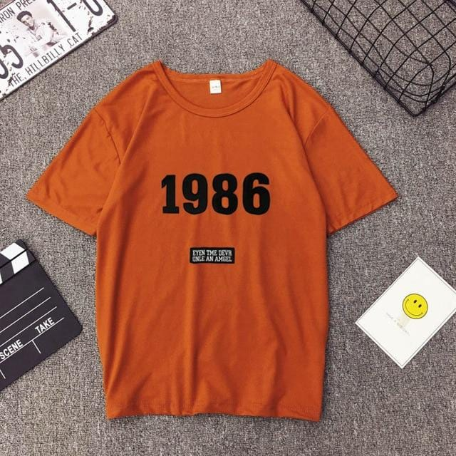 Casual 1986 Summer Top