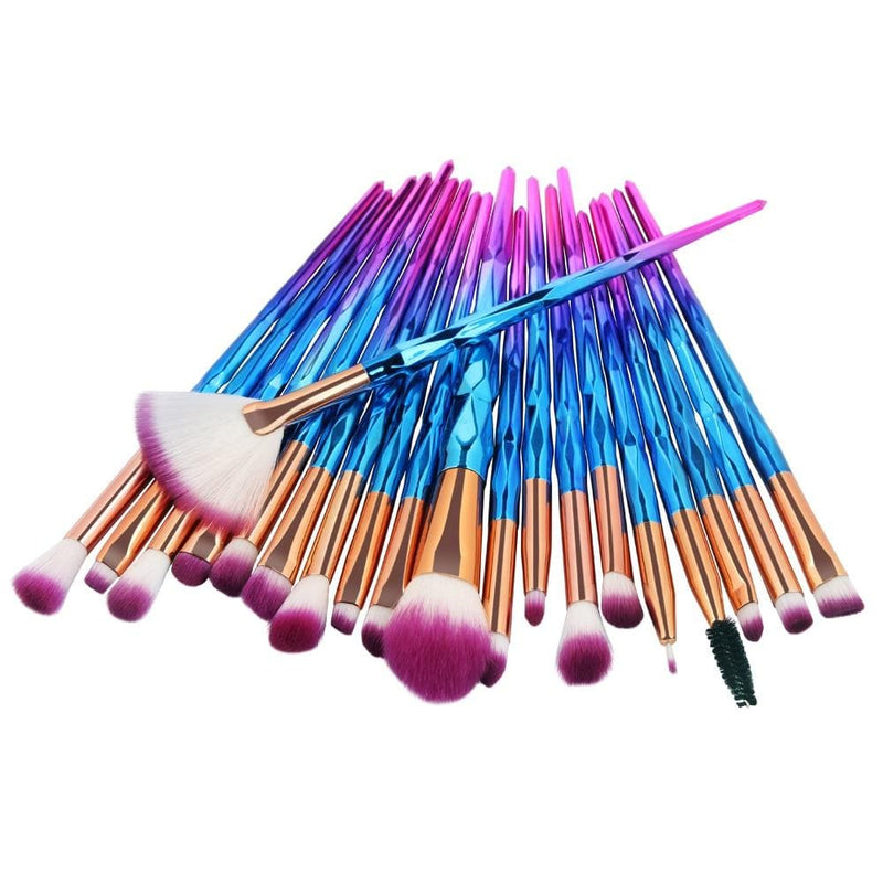 20 Pcs Professional Makeup Brushes - The Emporio Originals