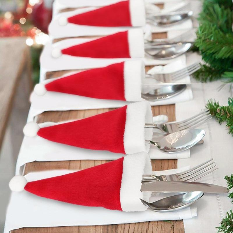10PCS Christmas Cutlery Holder - The Emporio Originals