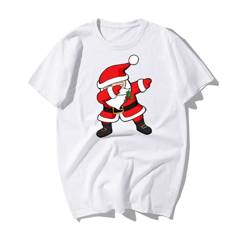 White Santa Claus T-Shirt (Unisex) - The Emporio Originals