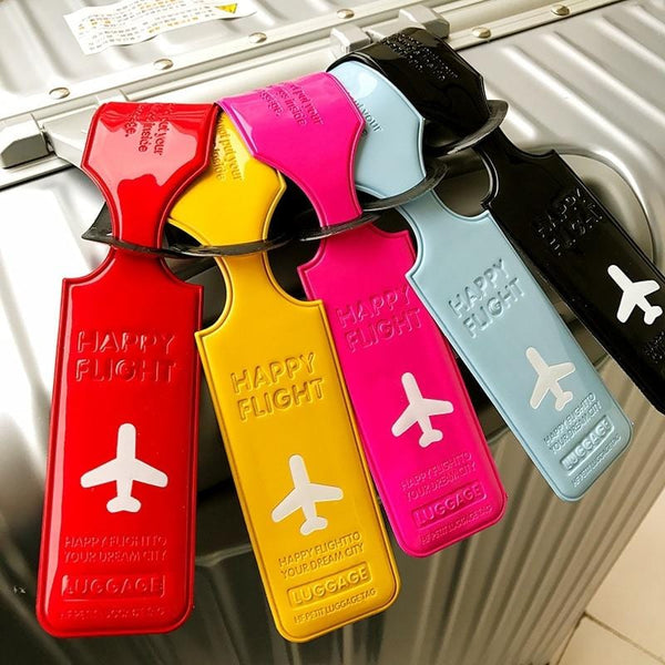 Leather Luggage Tag - The Emporio Originals