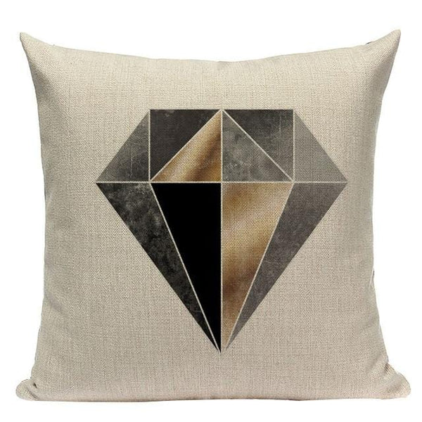 Geometric Cushion Cover - The Emporio Originals