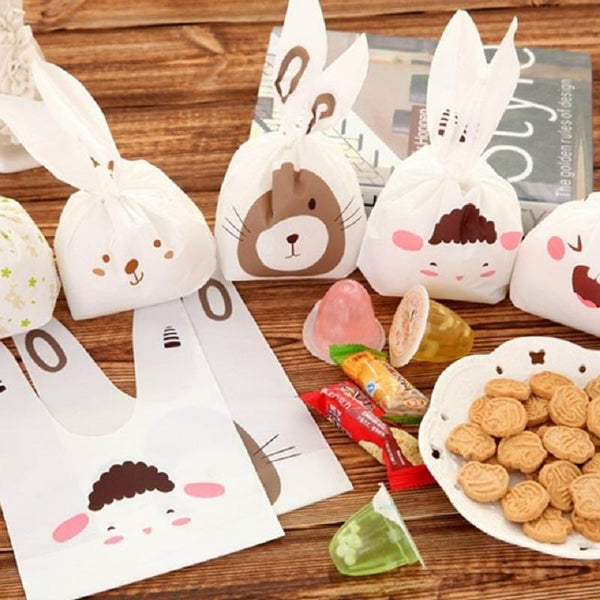 25pcs Bunny Cookies Bags - The Emporio Originals